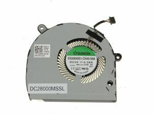 CPU Cooling Fan Replacement for Dell Latitude 5500 Precision 3540 M3540 P/N:01GM4N 1GM4N EG50040S1-CH49-S9A DC28000MSSL (Integrated Intel Fan)