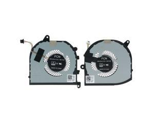 New Laptop CPU & GPU Cooling Fan Replacement for Dell XPS 7590 Precision 5540 M5540