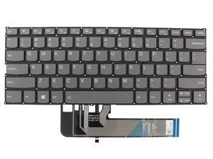 New US Black English Backlit Laptop Keyboard (without palmrest) for Lenovo ideapad S530-13IML S530-13IWL Light Backlight