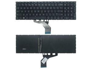 Laptop Keyboard Compatible for HP 15-DB 15T-DB000 15-DB0001CY 15-DB0001DS 15-DB0002CY 15-DB0002DS 15-DB0003CA 15-DB0003CY 15-DB0003DS 15-DB0004CY 15-DB0004DS 15-DB0004DX US Black No Frame