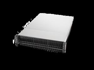 "Chenbro RM23524M2 2U Storage chassis 24 "" Mini-SAS Backplane 2U Modular Multi-function Computing and Storage Chassis, Railing Kit, Dual power supply"