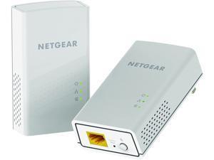 NETGEAR PowerLINE 1200 Mbps, 1 Gigabit Port (PL1200-100PAS),White