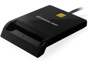 IOGEAR USB Common Access Card Reader for CAC, PIV and Secure Access, GSR212