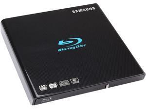 Samsung SE-506BB/TSBD 6X USB2.0 External Slim Blu-ray Writer Drive (Black)