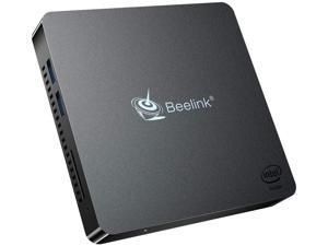 Beelink T34-M Mini PC Windows 10 Pro Quad Core Intel N3450(up to 2.2GHz) Mini Desktop Computer 4K HDMI&VGA DDR4 4GB RAM 64GB, 2.4G/5G WiFi, Gigabit Ethernet, USB 3.0, BT4.0 Support Auto Power On