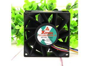 Original Y.S.TECH FD128032HB-P 12V 0.80A 8CM 8032 high wind cooling fan
