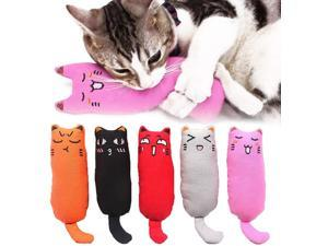 Legendog 5Pcs Catnip Toy, Cat Chew Toy Bite Resistant Catnip Toys for Cats,Catnip Filled Cartoon Mice Cat Teething Chew Toy