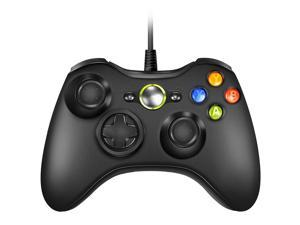 Xbox 360 Wired Controller, CORN USB Gamepad, Joypad with Shoulders Buttons, for Microsoft Xbox360/Xbox 360 Slim/PC Windows 7 8 10 Game (Not Official Controller)