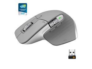 Logitech MX Master 3 Advanced Wireless Mouse-Mid Grey