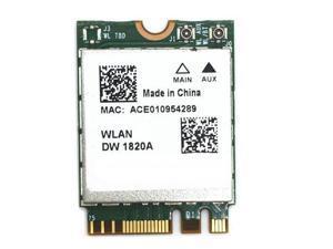 DW1820 BCM94350ZAE 802.11ac Bluetooth 4.1 867Mbps M.2 NGFF WiFi Wireless Card
