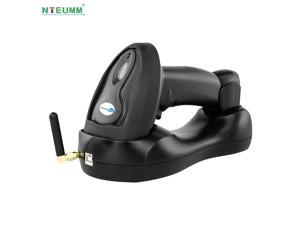 Netum Wireless Bluetooth Laser Barcode Scanner with Inventory Memory Warehouse Stock Scanning with Base Receiver