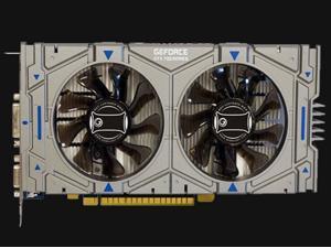 CORN GTX 750Ti 128-Bit 2GB GDDR5 Graphic Card with dual fans DirectX12 Video Card GPU PCI Express 3.0 VGA/DVI/HDMI,Play for LOL,PUBG,OW,War Thunder etc.