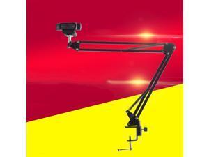 CORN Adjustable Desktop Clamp Suspension Boom Scissor Mount Stand Holder Webcam Tripod for Logitech Webcam C922 C930e C930 C920 C615, Durable Iron, Perfect for Video Recording