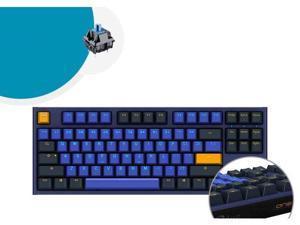CORN One 2 Horizon Mini, All Non-conflicting 87 Keys, Cherry MX Blue Mechanical Gaming Keyboard(No Backlight)