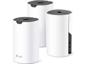 TP-Link JD Power winner routers 2019-Deco Whole Home mesh wifi system– Up to 5,500 Sq.ft. Coverage, WiFi Router/Extender Replacement, Gigabit Ports, Parental Controls, Works with Alexa(Deco S4 3-Pack)