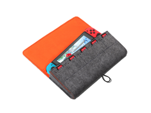CORN Nintendo Switch Carrying Storage Case, Protective Case with 5 Card Slots, Anti-splash and Easy to Carry