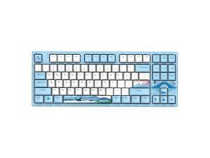 Dareu A87  Spring Swallow Theme 87 Keys Compact Layout Mechanical Gaming Keyboard, Cherry MX Switch, PBT Keycaps