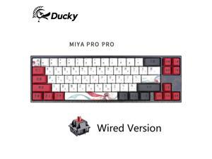 Ducky X Varmilo MIYA Pro Ergonomic Design,Cool Exterior 68 Keys Type-C Cable Detachable Mechanical Gaming  Keyboard For Office And Game- Chinese Hua Dan  Verison( No Backlit)