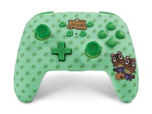 PowerA Enhanced Wireless Controller for Nintendo Switch - Animal Crossing: Timmy & Tommy Nook - Nintendo Switch