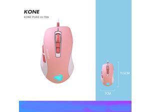 ROCCAT ROC-11-730 Kone Pure Ultra - Light Ergonomic Gaming Mouse (16000 Dpi Optical Sensor RGB Lighting Ultra Light) Pink
