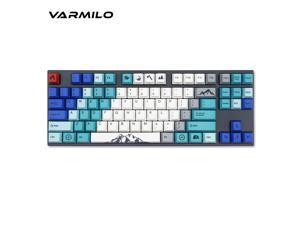 Jeterndy Mechanical Keyboard Bluetooth Wired Dual Mode 60/% Golden//Ice Blue Backlit Mechanical Gaming Keyboard Black White Mechanical Gaming Keyboard Color : White, Size : Brown Switch
