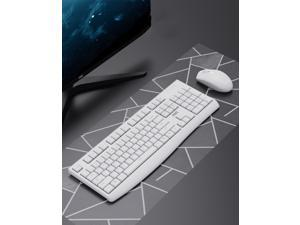 AOC KM220 2.4GHZ Wireless Keyboard and Mouse Combo,Waterproof,Ultra-thin and Power-saving, Low Typing Noise