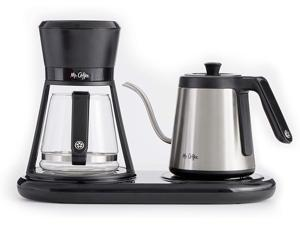 Mr. Coffee BVMC-PO19B All-in-One Pour Over Coffee Maker, 6 Cups, Black