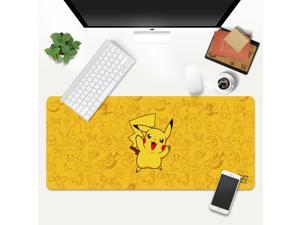 CORN Pokemon Pikachu Pattern Natural Rubber Base Gaming Mouse Pad -400X900X3mm- PAD ONLY