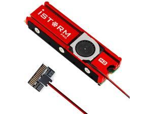 JEYI NVMe M.2 SSD Cooler Heatsinks with 20mm Fan Powerful Cooling