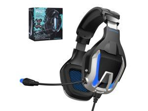 ONIKUMA K12 3.5 Jack +USB Gaming Headset HD Sound Gamer Volume Adjustable Headphone with Microphone for Nintendo Switch XboxOne PUBG Game PS4 PC Laptop
