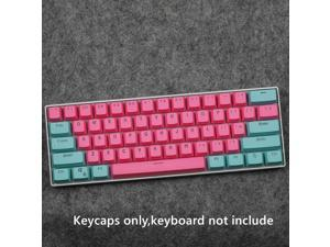 CORN 61 Key Layout OEM Profile PBT Thick Keycaps for 60% Mechanical Keyboard for RK61,GANSS ALT61,IKBC poker,Annie PRO,GH60,iqunix f60