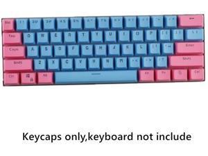 CORN 61 Key Layout OEM Profile PBT Thick Keycaps for 60% Mechanical Keyboard for RK61,GANSS ALT61,IKBC poker,Annie PRO,GH60,iqunix f60, Anne pro 2