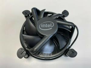 Intel K69237-001/E97379-001/E97378-001 LGA 1200/115X PWM Aluminum Stock Cooler Fan(All-Black) from i9-10900