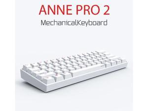 Anne Pro 2 60% Mechanical Keyboard Wired/Wireless Dual Mode Full RGB Double Shot PBT - Kailh Brown Switch