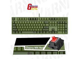iKBC X GUNDAM  Limited Version Cherry MX Red USB Wired Mechanical Gaming Keyboard