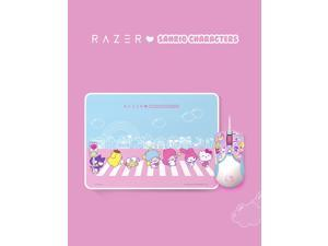 Razer Chroma HelloKitty I SANRIO Pink Exclusive Mouse Wired Mouse and Pad Combo for Gaming and Office