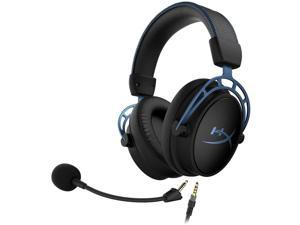 HyperX Cloud Alpha S - PC Gaming Headset, 7.1 Surround Sound, Adjustable Bass, Dual Chamber Drivers, Chat Mixer, Breathable Leatherette, Memory Foam, and Noise Cancelling Microphone
