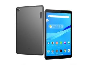 """Lenovo Tab M8 Tablet, 8"""" HD Android Tablet, Quad-Core Processor, 2GHz, 32GB Storage, Full Metal Cover, Long Battery Life, Android 9 Pie, ZA5G0060US, Slate Black"""