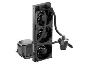 Cooler Master MasterLiquid ML360 SUB-ZERO Close-Loop AIO CPU Liquid Cooler, Equipped with Intel CRYO cooling technology,2nd generation water pump, With SF120R fan