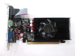 Dell Optiplex 740 750 3010 3020 7010 7020 9010 9020 SFF GT 610 2GB PCI Express 2.0 x16 DVI+HDMI Single Slot Full High Video Graphics Card