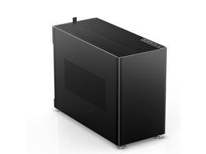 JONSPLUS i100 Pro ITX/DTX All Alloy  MINI Computer Case - Support 360/280/240/120 Liquid Cooling