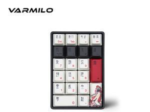 Varmilo VA21M  Ergonomic Design, Cool Exterior USB Wired Mini Numeric  Mechanical Keyboard, Cherry MX Switch, PBT Keycaps- Hua Dan