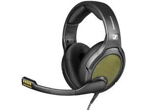 DROP + Sennheiser PC38X Gaming Headset — Noise-Cancelling Microphone with Over-Ear Open-Back Design, Velour Earpads, Compatible with PC, Gaming Consoles, and Mobile Devices, Black