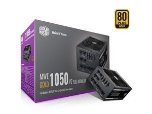 Cooler Master MWE Gold 1050 V2 Fully Modular, 1050W, 80+ Gold Efficiency, Quiet HDB Fan, 2 EPS Connectors, High Temperature Resilience