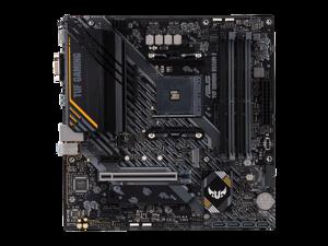 ASUS TUF GAMING B550M-E  AMD B550 (Ryzen AM4) Micro Gaming ATX motherboard (PCIe 4.0, dual M.2,  DisplayPort, HDMI, D-Sub, SATA 6 Gbps, support DDR4)