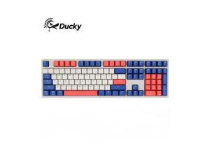 Ducky One 2 108 Bon Voyage Edition, All Non-conflicting 108 Keys, Cherry MX Mechanical Gaming Keyboard, PBT Keycaps