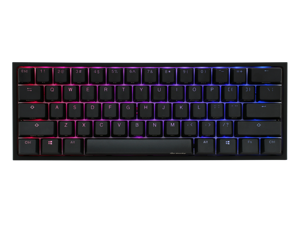 Ducky One 2 Mini RGB LED 60% Double Shot PBT Gaming Mechanical Keyboard - Cherry MX Switches