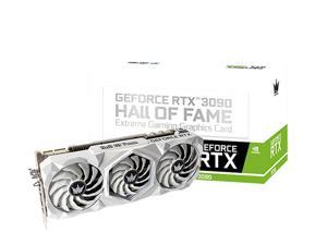 CORN Geforce RTX 3090 HOF Extreme 24GB White Graphics Card
