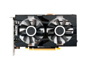INNO3D GEFORCE GTX 1660 TI TWIN X2 Graphics Card,6 GB 192-Bit GDDR6,NVIDIA Chip Support PCI Express 3.0,1770MHz Core Frequency