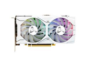 GEFORCE GTX 1660 Ti X2 Graphics Card, 6GB 192-Bit GDDR6, 1770MHz Core Frequency and 12Gbps Video Memory Frequency, With RGB Automatic Light Effect